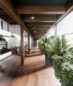 Highlights fra BO BEDRE: Villa på Mallorca i en klasse for sig Scandinavian Architecture, Sheltered Housing, Aarhus, Glass House, Modern Kitchen Design, Villa, Cottage, House Design, Contemporary