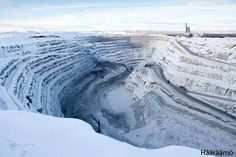 Open-pit mine Aitik, Gällivare, Sweden www.haaraamo.fi