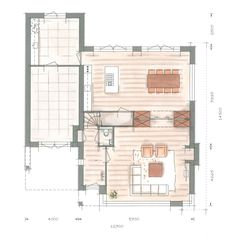 Huis bouwen villa Icarusblauwtje plattegrond optie begane grond