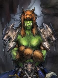 Rehgar Earthfury -Orc (Horde)