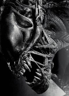 "geoffrox: "" ""Ripley, for God's sake… this is the first time that we've encountered a species like this. All sorts of tests have to be made. Aliens 1986, Aliens Movie, Alien Tattoo Xenomorph, Giger Alien, Giger Art, Alien Covenant, Predator Alien, Alien Art, Alien Pics"