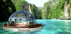 Eco Floating House Concept