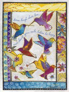 Laurel Burch birthday card.