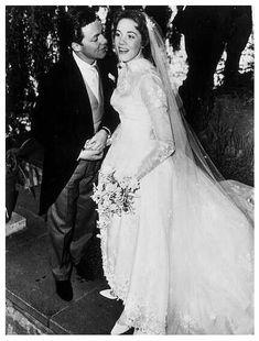 Julie's wedding day. 1959
