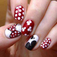 More Disney nail ideas