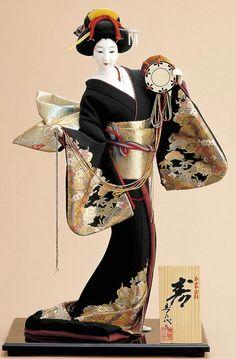 Japanese doll  JPB:日本人形寿2. Hina Dolls, Kokeshi Dolls, Bjd Dolls, Japanese Geisha, Japanese Kimono, Japanese Doll, China Vase, Japanese Traditional Dolls, Art Chinois