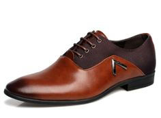 Men's Pointed Toe Oxfords