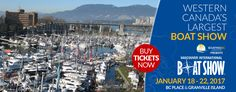 Visit AdamSea at Vancouver Boat Show 2017 from 18th-22nd Jan 2017.