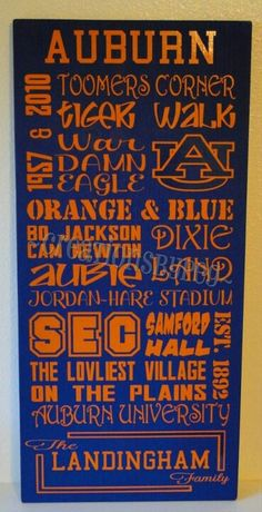 For the love of all things Auburn!
