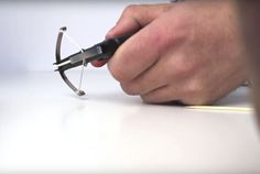 Picture of How to make a MINI CROSSBOW / HACK PENS !