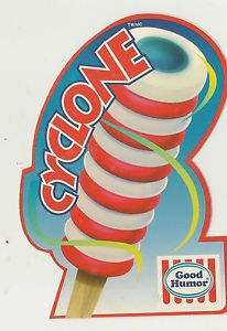Good Humor Cyclone ICE Cream Truck Decal Sticker | eBay