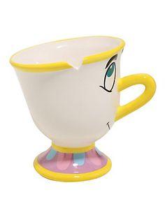 Beauty And The Beast Chip Figural Mug,