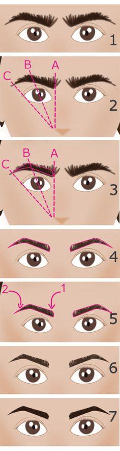 Epiler ses sourcils et avoir des sourcils parfaits