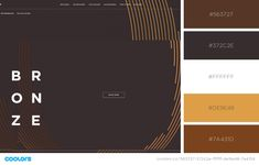 39 Inspiring Website Color Schemes to Awaken Your Creativity Website Color Palette, Website Color Schemes, Colors Website, Black Color Palette, Brown Color Schemes, Brown Colors, Formulaires Web, Web Colors, Color Palate