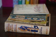 Scruffy old books
