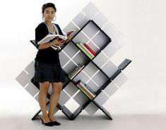 A Bookshelf As Easy As Legos » Yanko Design