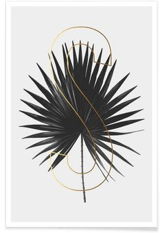 Plants S als Premium Poster door typealive | JUNIQE
