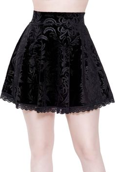 NEW Girls Black Grey Red Tie Dyed Batik Frilly skater lace Skirt Gothic Rock