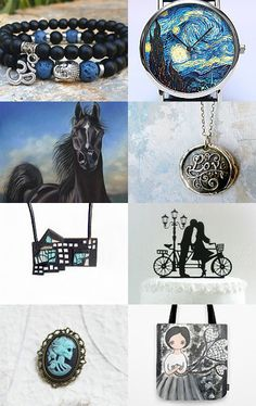 Black and Blue All Over... by Susan on Etsy--Pinned with TreasuryPin.com #integritytt