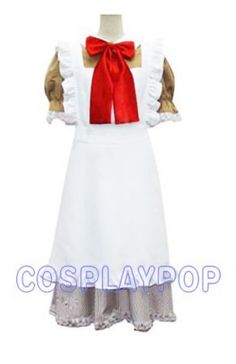 Hetalia Chibi Romano Maid Cosplay Costume [C20070] - $72.00 : Shop Cheap Cosplay Costumes Online From Cosplaypop.com