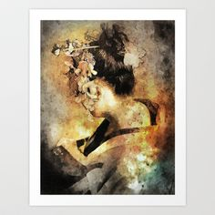 The+Last+Geisha+Art+Print+by+Andre+Villanueva+-+$16.00