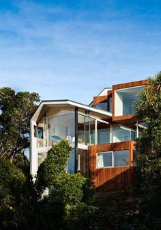 Seaview House, #Wellington, #NZ / © Paul McCredie / Parsonson Architects
