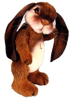 Rabbit Animal Pattern Bunny Plush Pattern Plush by marygardenart