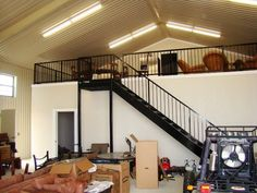 metal building homes with loft - Google Search