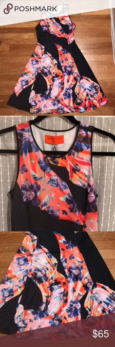 Clover Canyon skater dress Stunning clover Canyon dress. Style is Spanish Shawl. Matte jersery knit dress. Brand new size small but no size tag attached. I bought this from their showroom in LA and their sample sizes are all small. Though it fits me and I'm a medium. Retail price $250. Whole sale tag is $125. Clover Canyon Dresses