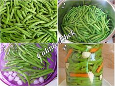 fasulye turşusu yapımı Perfect Food, Green Beans, Bon Appetit, Pickles, Cookie Recipes, Cabbage, Canning, Jelly, Pickling