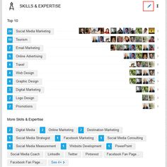 Optimising your linkedin profile and using linkedin skills and expertise and endorsements