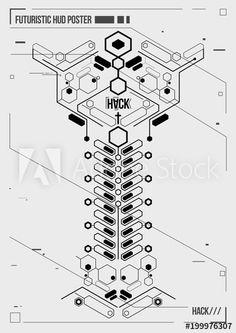 Cyberpunk Tattoo, Cyberpunk Art, Graphic Design Lessons, Graphic Design Typography, Retro Futuristic, Futuristic Design, Computer Tattoo, Tech Image, Laser Art