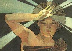 Oeuvres d'Alfons Mucha en république tchèque
