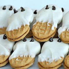Pumpkin Carving Party  | Ghost Cookies | MyRecipes.com