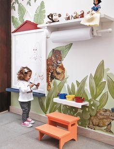 Ideias lúdicas em cinco quartos de crianças - Casa                                                                                                                                                                                 Mais
