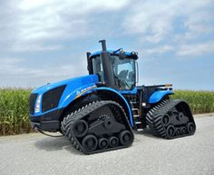 New Versatile tractors on tracks | Toughest Tracks in the Industry Boost Productivity of New Holland T9 ...