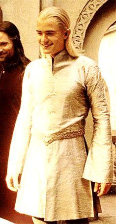 Legolas THAT SMILE! MY GAWSH!