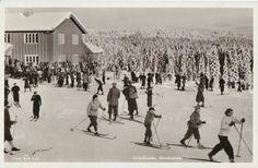 ULLEVÅLSETER i NORDMARKA Oslo bruk 1938 Utg Mittet