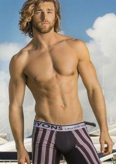 Cole Monahan Wears Diyons Underwear