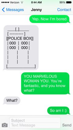 Geeky text!