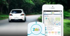 """With Zubie, you can make driving Safer, Easier, and Less Expensive. A small """"key"""" plugs into the 16-pin diagnostics port hidden on your car's dashboard, syncing to a smartphone app. The app has a map that pinpoints where the vehicle is at all times, a gas price and mileage tracker, and battery and engine monitor that sends alerts if either is malfunctioning."""
