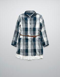 Zara Girls dress with frill belt