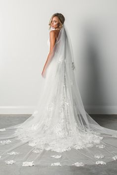 Romantic, dreamy, show-stopping. Have your moment in one of our exquisite wedding veils or hair accessories. Find your dream veil at Grace Loves Lace today! Wedding Veils, Wedding Dresses, Bridal Veils, Bride Dresses, Lace Wedding, Tulle, Lace Bride, Lace Veils, Grace Loves Lace