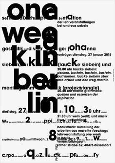 büro uebele, One week in Berlin