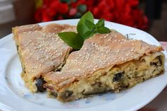 The pleasure of taste: Μελιτζανόπιτα από την mamatsita χ.γ.