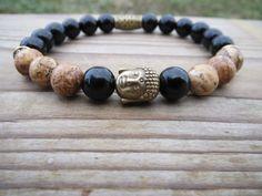 Check out this item in my Etsy shop https://www.etsy.com/uk/listing/243508693/buddha-yoga-bracelet-zen-gemstones