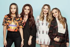 jesy nelson, perrie edwards, and little mix image Little Mix Perrie Edwards, Perrie Edwards Style, Jesy Nelson, Adeline Morin, Little Mix Photoshoot, Little Mix Outfits, Litte Mix, Girl Bands, Female Singers
