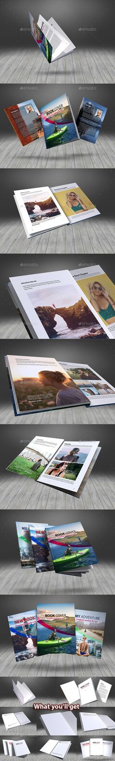 Floating Thin Book #Mockup - Books Print Download here:  https://graphicriver.net/item/floating-thin-book-mockup/19225789?https://graphicriver.net/item/floating-thin-book-mockup/19225789?ref=alena994