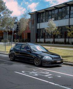 Honda Civic 1995, Honda Civic Hatchback, Ek Hatch, Honda Cars, Import Cars, Japan Cars, Jdm Cars, Custom Cars, Cool Cars