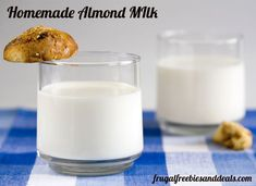 have you even made almond milk? It's super easy and cheap.